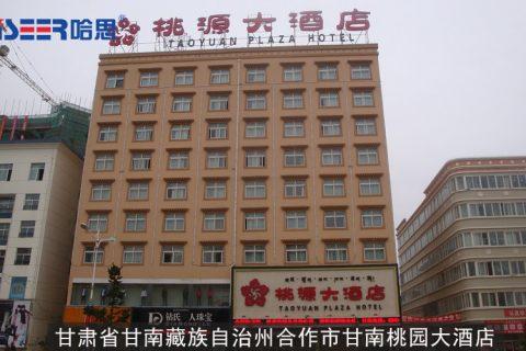 甘肃省甘南藏族自治州合作市甘南桃园大酒店 工程案例