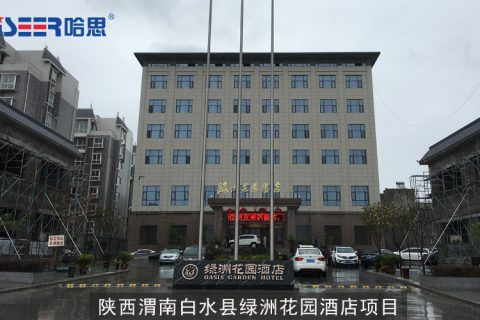 陕西渭南白水县绿洲花园酒店项目