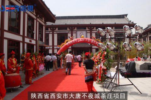 2009年陕西省西安市大唐不夜城茶庄项目