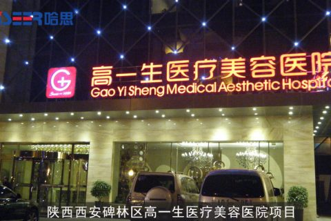 2011年陕西省西安市碑林区高一生医疗美容医院项目