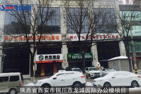 陕西省西安市铜川市龙城国际办公楼项目