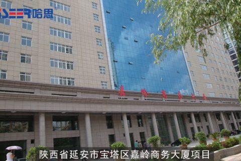 2012年陕西省延安市宝塔区嘉岭商务大厦项目