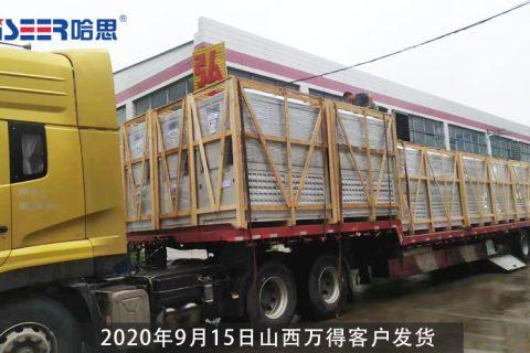 9月15日山西万得客户18台机组发货