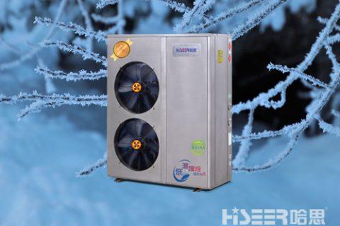 老旧小区冬天供热不达标,哈思空气源热泵让用户笑弯了腰